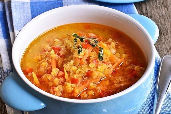 Instant Pot Lentil Soup Vegan Gluten-free