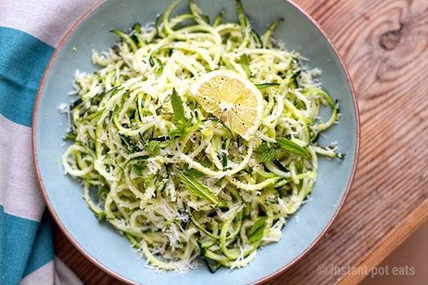 Instant Pot Zucchini Noodles