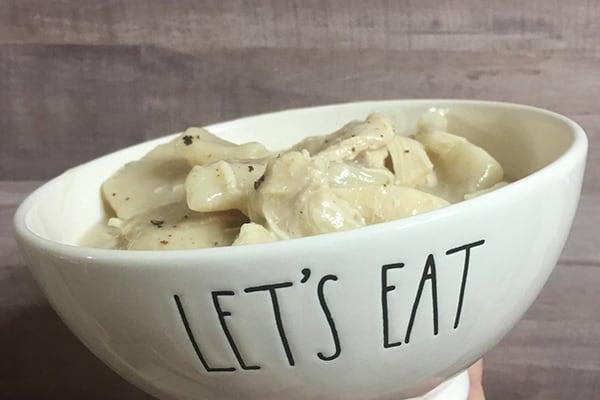 Instant Pot Copycat Cracker Barrel Chicken and Dumplings