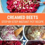 How To Make Instant Pot Creamed Beets
