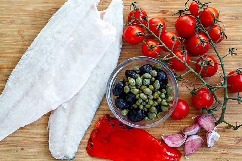 Instant Pot Italian Fish Ingredients