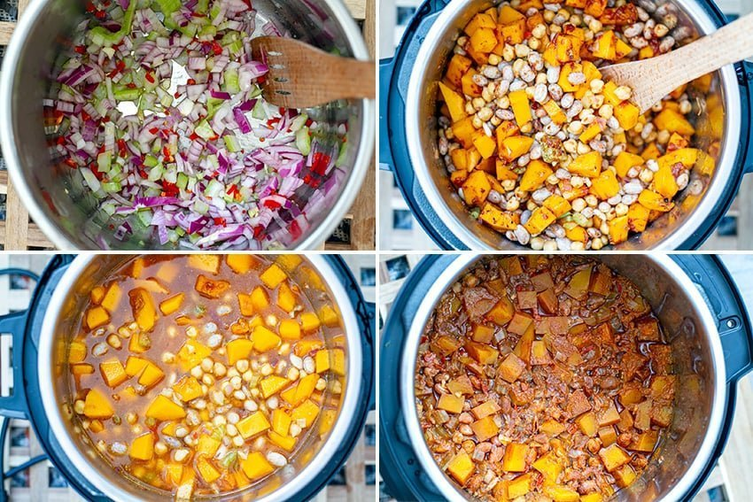 Instant Pot Vegetarian Chili Ingredients