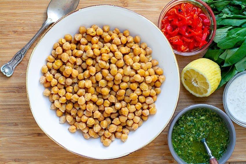 Garbanzo Bean Recipes - ingredients