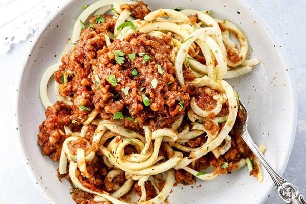 Instant Pot Vegetarian Bolognese