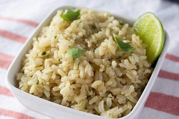 Instant Pot Cilantro Lime Rice - Chipotle Copycat