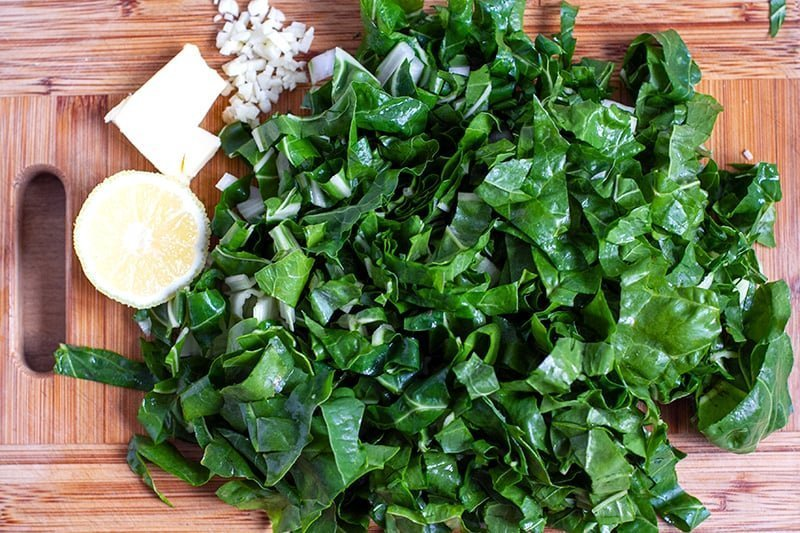 Sautéed Chard With Butter