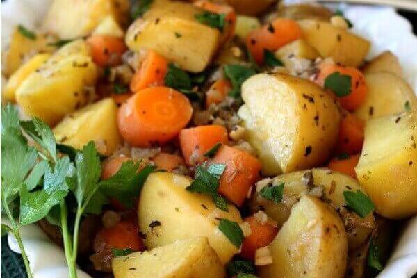 Instant Pot Potato Carrot Medley