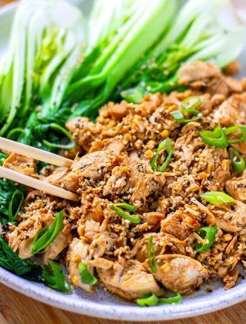 Instant Pot Chicken Hibachi