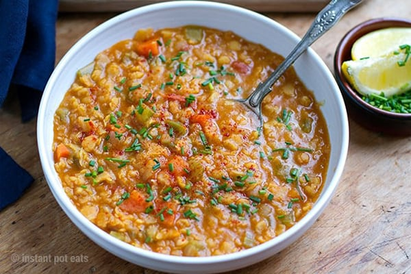 Instant Pot Turkish Split Pea Stew