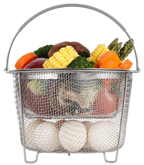 Instant Pot Steamer Basket Stackable