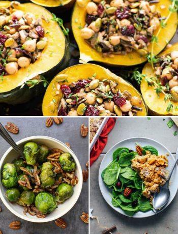 Instant Pot Thanksgiving Vegan Sides