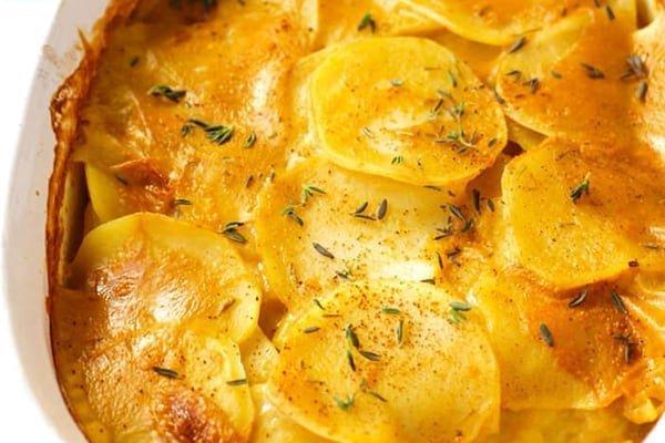 Vegan Scalloped Potatoes Instant Pot