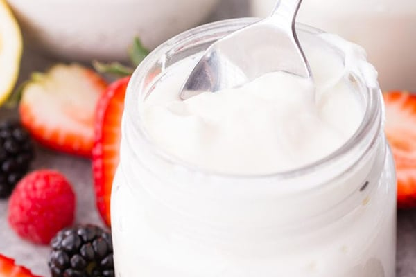 Instant Pot Greek Yoghurt for Mediterranean diet