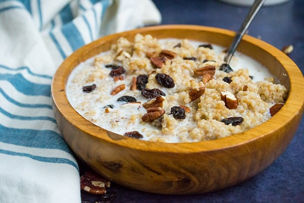 Instant Pot Quinoa Breakfast Porridge