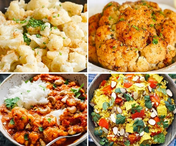 Cauliflower Instant Pot recipes