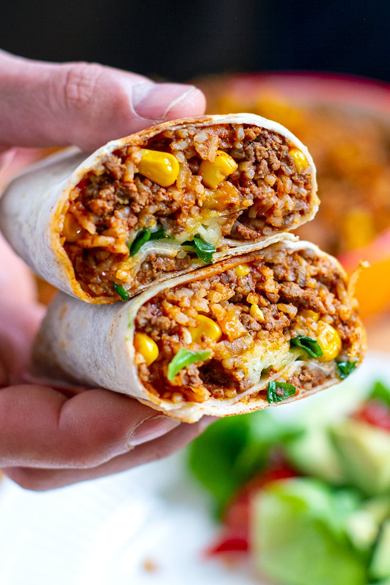 Beef Burritos with Instant Pot