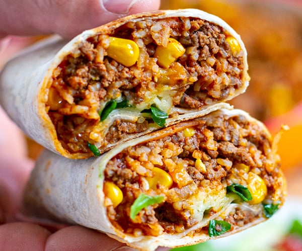 Instant Pot Burritos