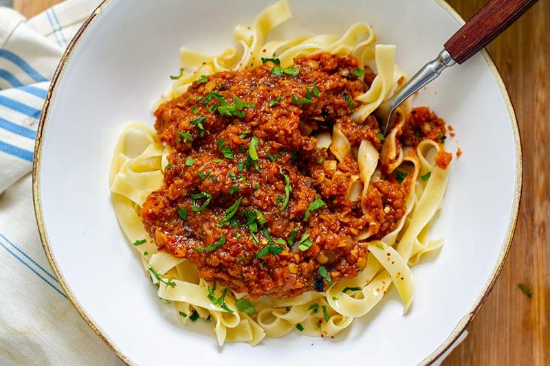 Instant Pot Vegan Bolognese