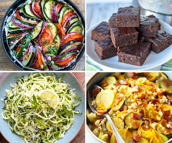 Zucchini instant pot recipes