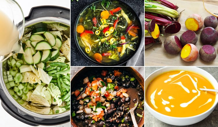 Cleansing Detox Recipes With Instant Pot
