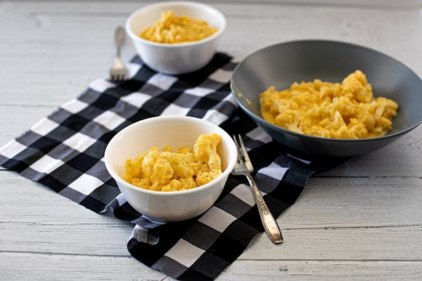 Instant Pot Cauliflower Mac & Cheese