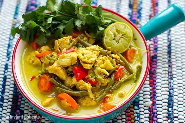 THAI CHICKEN CURRY IN A HURRY
