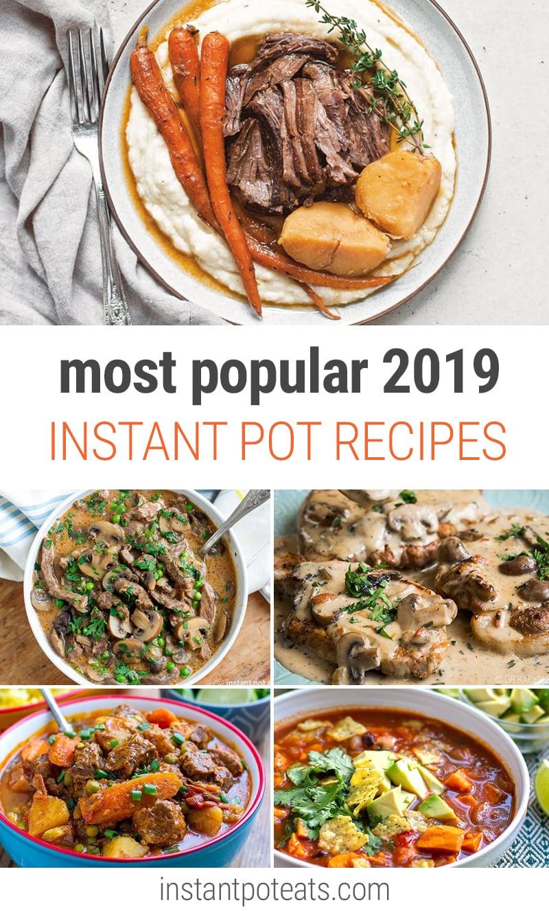 Most Popular Instant Pot Recipes In 2019