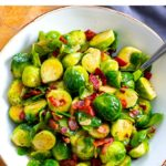 Instant Pot Bacon Brussels Sprouts (With Video)