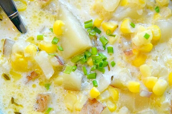 Instant Potato Potato Corn Bacon Chowder