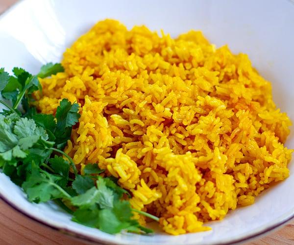 Instant Pot Jasmine Rice Turmeric