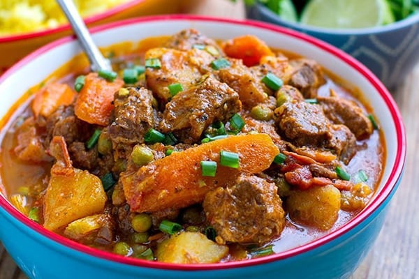 Lamb Stew With Carrots & Potatoes