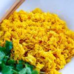 Jasmine Turmeric Rice In The Instant Pot