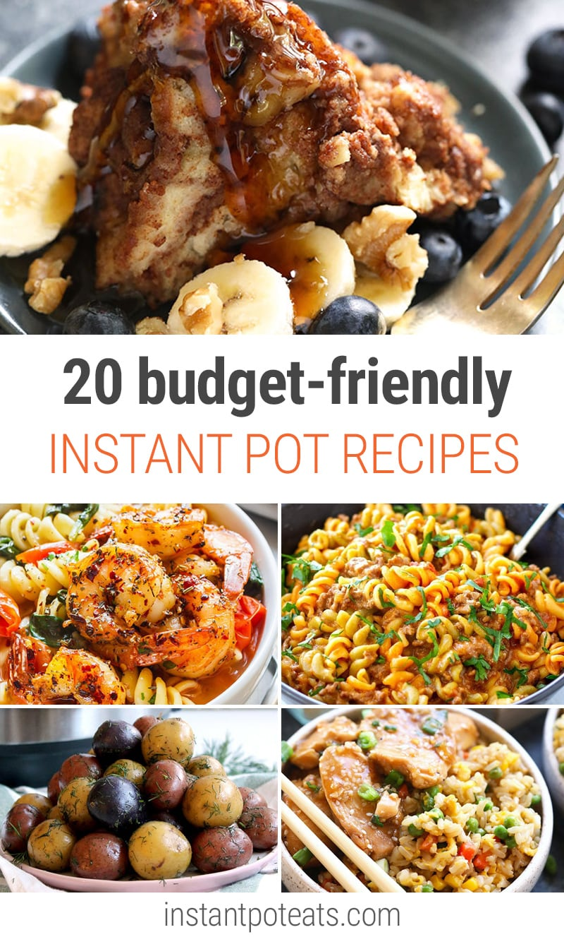 20 Budget-Friendly Instant Pot Recipes