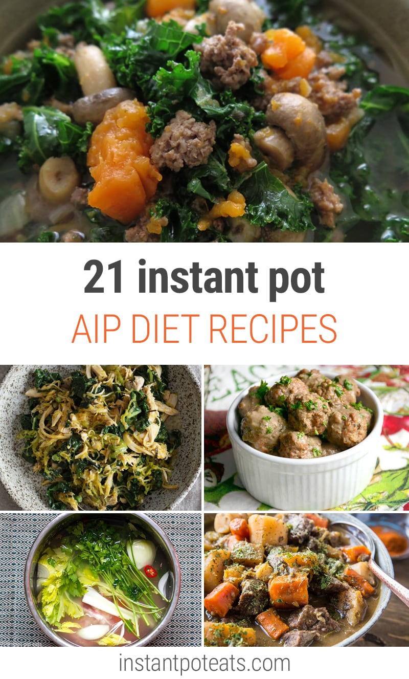 21 AIP Instant Pot Recipes