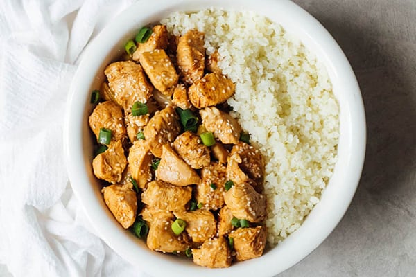 Instant Pot Sweet and Sour Chicken (Whole30 & AIP)