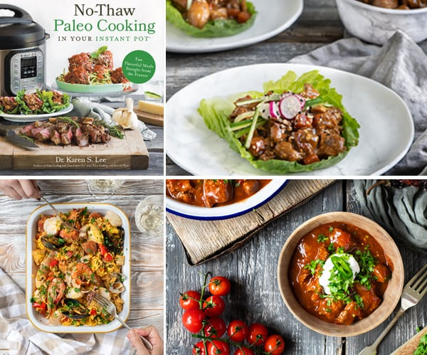 Cookbook Review No-Thaw Paleo Cooking In Your Instant Pot