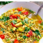 Pressure Cooker Chicken Noodle Soup (Instant Pot)
