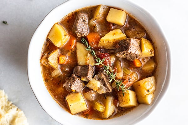 EASY INSTANT POT VENISON STEW