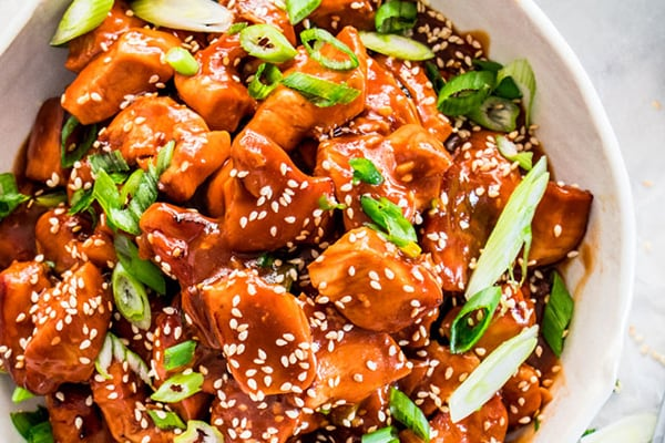 GENERAL TSO'S SPICY CHICKEN