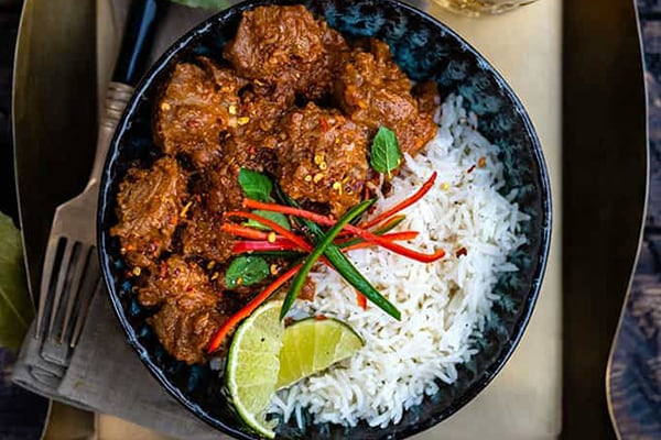 LAMB BHUNA CURRY