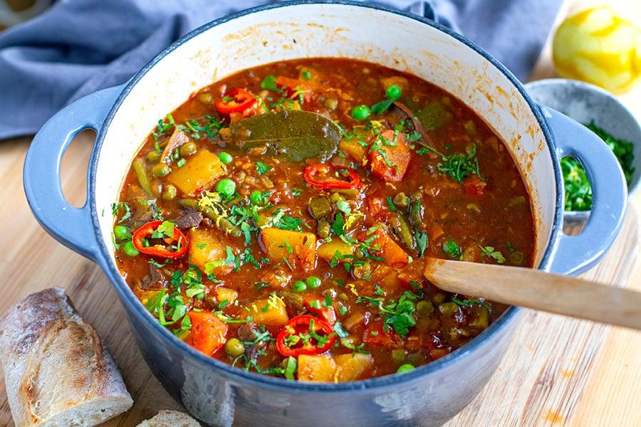 Instant Pot Vegetable Stew Recipe