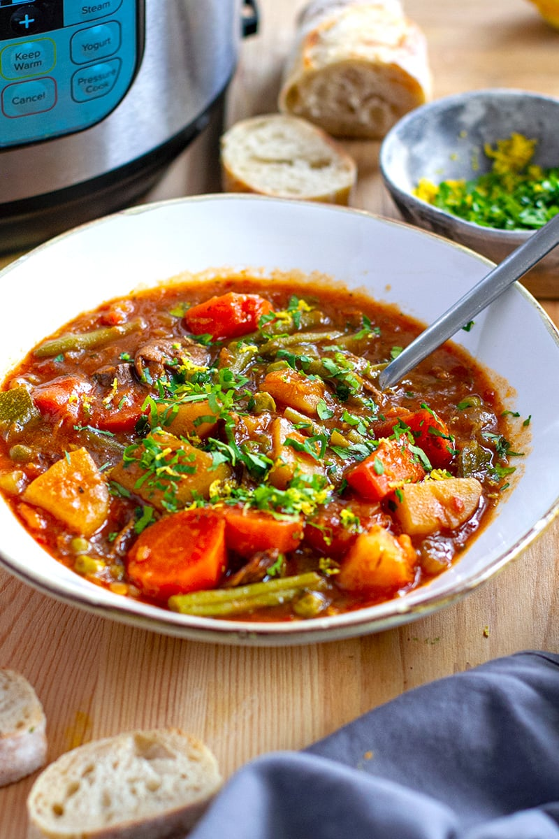 Vegetable Stew Instant Pot Recipe