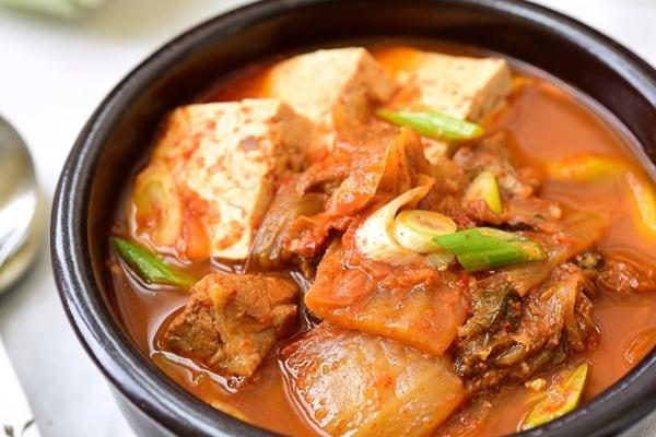 Instant Pot Kimchi Stew
