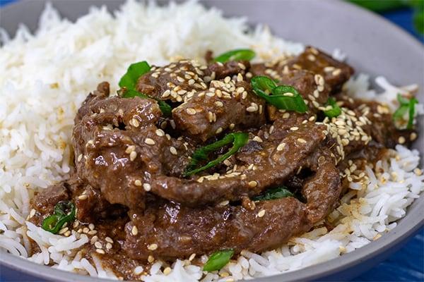 Sesame Garlic Beef