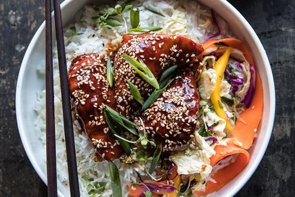 Sticky Korean Chicken