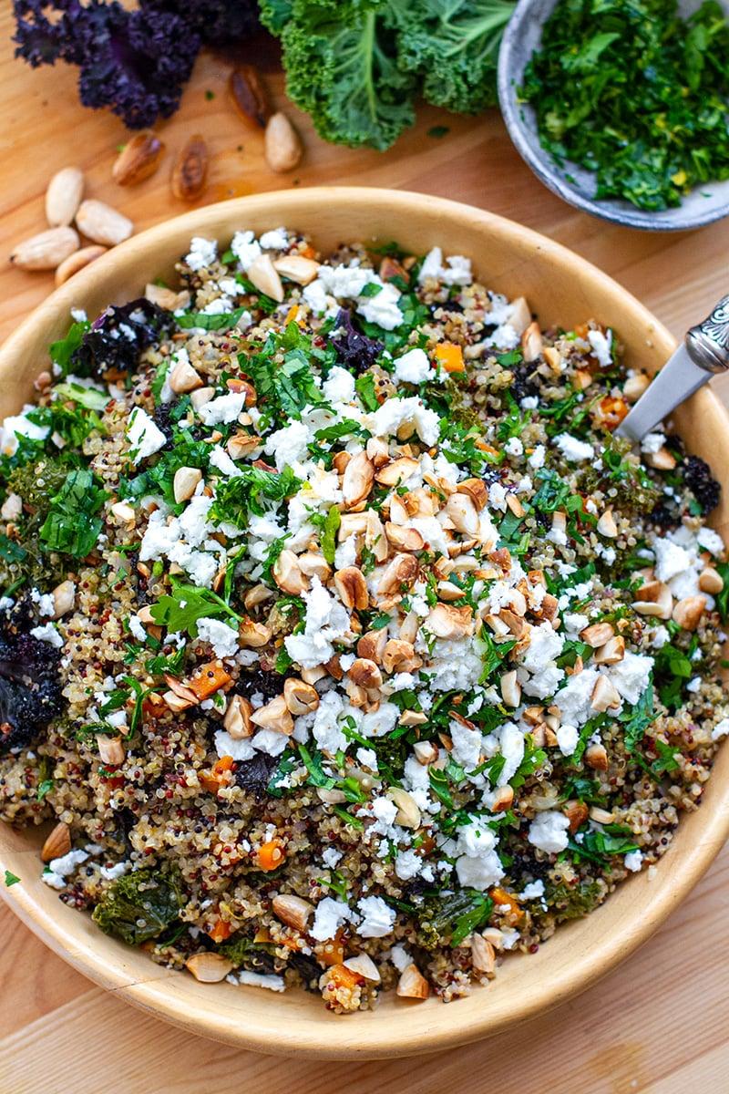 Instant Pot Kale & Quinoa Recipe Pilaf