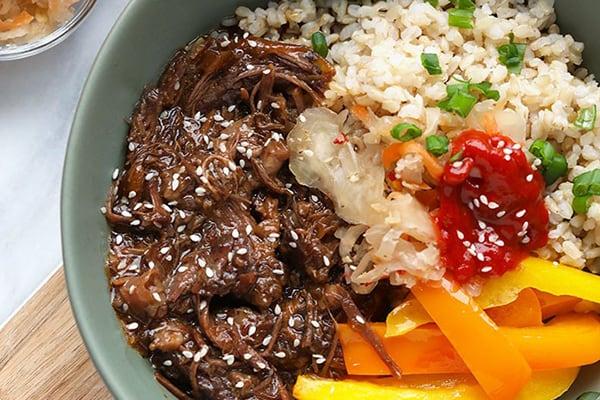 Beef bowl Korean-Style