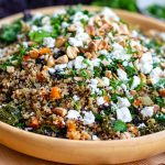 Instant Pot kale and quinoa pilaf