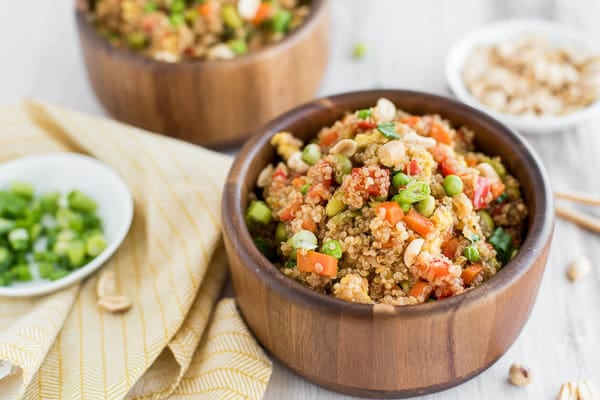 Instant Pot Quinoa Fried Rice