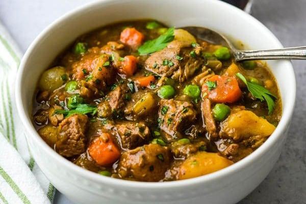 Instant Pot Irish Stout Lamb Stew